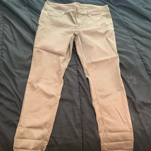 Maurice's sage green jeggings